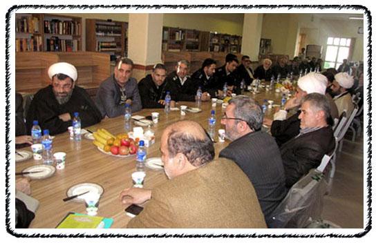 جلسه هم اندیشی برگزاری اولین نماز جمعه شهر وحیدیه