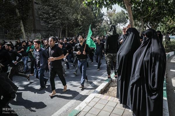 عزاداری عاشورای حسینی در شهرری