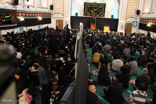 مراسم عزاداری در مرکز اسلامی لندن